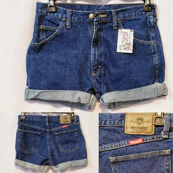 Wrangler Pants - 💕Wrangler Cut off Shorts, High Rise size 31💕